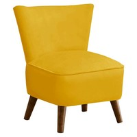 Barnes Modern Chair, Yellow