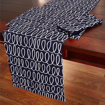kate spade new york In The Loop Table Linen Collection | Dillards