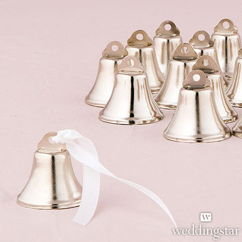 Miniature Wedding Bell Favor and Place Card Holder