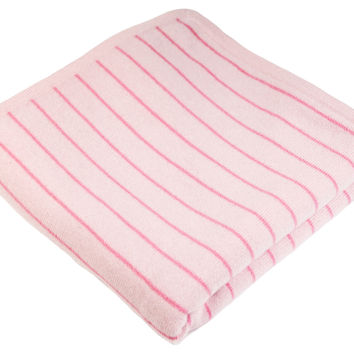 Cashmere Baby Blanket, Pale Pink, Baby Blankets