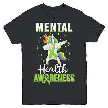 Inspirational Mental Health Awareness Unicorn Support Youth