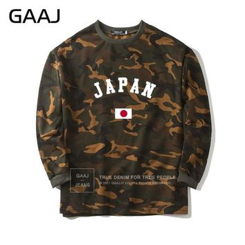 Japan Flag Camouflage Sweatshirt Men Women East Asia Skate  Camo Brand Clothing Hoodies Male Popular Jacket Mens Homme Printed
