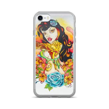 Pin Up Art iPhone Phone Case