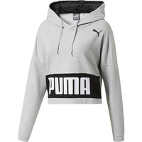 Training Urban Sports Women's Hoodie | Light Gray Heather | PUMA Shoes | PUMA United States