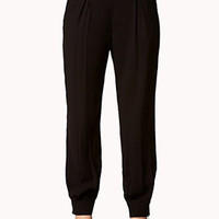 Crepe Woven Trousers | FOREVER 21 - 2053338985