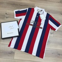 Gucci Lapel T - shirt