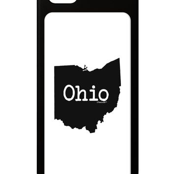 Ohio - United States Shape iPhone 5 / 5S Grip Case  by TooLoud