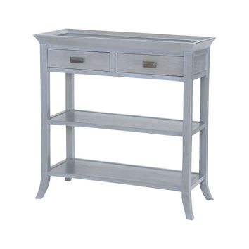 Tamara Console Table In Gravesend Grey Gravesend Grey