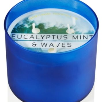 3-Wick Candle Eucalyptus Mint & Waves