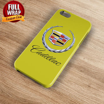Cadillac Automobile Car Logo Full Wrap Phone Case For iPhone, iPod, Samsung, Sony, HTC, Nexus, LG, and Blackberry