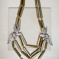 Fly Away Statement Necklace