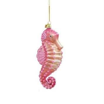 Christmas Ornament - Pink Seahorse