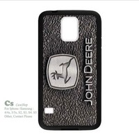 -John Deere For Samsung Galaxy S5 i9600 Hard Case Cover