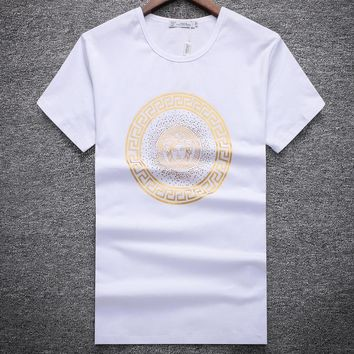 Versace Fashion Casual Shirt Top Tee-51