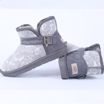 """UGG"" Women Trending Fashion Wool Snow Boots"