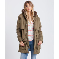 Billabong Women's Lilli Lined Jacket Grass Roots