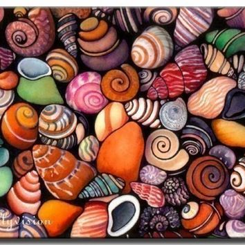 Shells by HollyvisionArt on Etsy