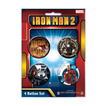 Iron Man 2 Button Set