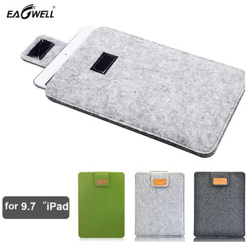 Felt Tablet Case For Apple iPad Air 2 for iPad 2 Case 9.7 inch Cover Envelope Pouch Sleeve Bag Protective Pocket Shell 2016