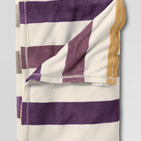 ThermaCheck® Fleece Striped Blanket from Lands' End