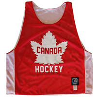 Canada Hockey Sublimated Reversible Pinnie