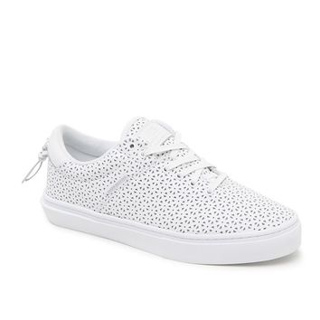 Clear Weather The Ninety Snow Storm Perforated Shoes - Mens Shoes - White Perf - 10