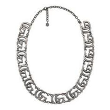 Gucci Double G necklace in silver