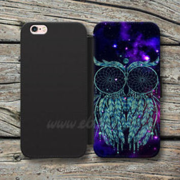 dream catcher owl Wallet iPhone cases owl Samsung Wallet Leather Phone Cases