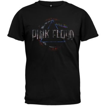 Pink Floyd - Dark Side Of The Moon Seal Soft T-Shirt