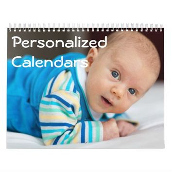 Personalized Calendars (January - December)