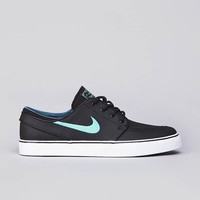 Flatspot - Nike SB Stefan Janoski L Black / Crystal Mint - Night Factor