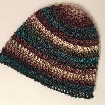 Women's Winter Hat in Tealberry