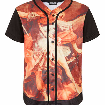 Underated St Michael Baseball Jersey T-shirt* - Men's T-Shirts & Vests - Clothing - TOPMAN