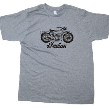 Mens Indian Scout Motorcycle T-Shirt
