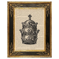 Royal Crown #3 Art Print
