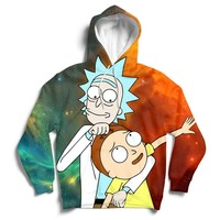 Rick Loves Morty Hoodie