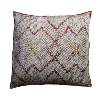 Pre-owned Vintage Berber Pillow