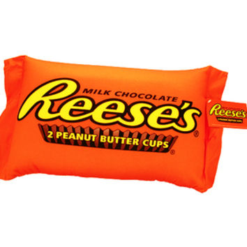 Reese's Peanut Butter Cup Squishy Candy Pillow