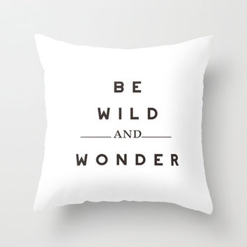 White Typography Throw Pillow Cover Decorative Throw Pillow Inspirational Quote Minimalist Decor Text Pillow White Decor