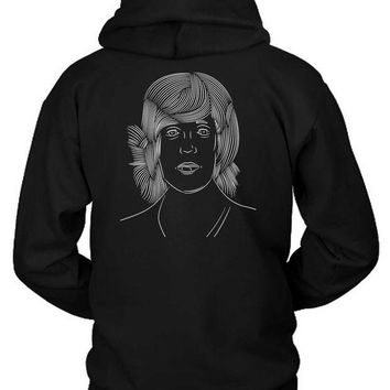 LMFH9S Oliver Sykes Fan Art Illustrations Hoodie Two Sided