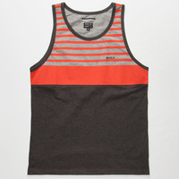Rvca Pickup Mens Tank Charcoal  In Sizes