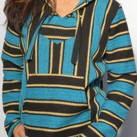 Baja Hoodies - Baja Sweatshirt | Turquoise - The World's Greatest Baja Hoodie Selection | Señor Lopez Poncho | BajaHoodiez.com