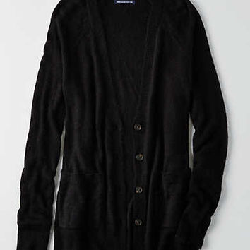 AEO Ahhhmazingly Soft Cardigan , Black