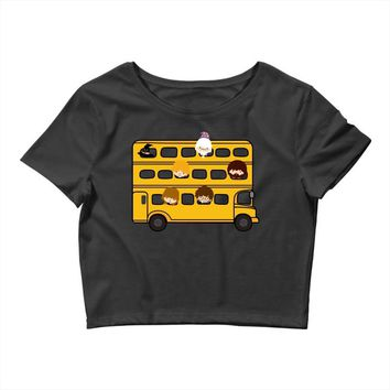 Harry Potter Schoolbus Crop Top
