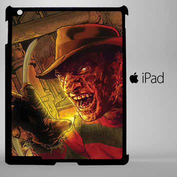 Freddy Krueger Night Mare on Elm Street scare iPad 2, iPad 3, iPad 4, iPad Mini and iPad Air Cases - iPad