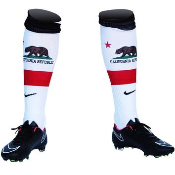 California Flag Soccer Nike Socks