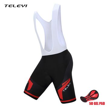 TELEYI Cycling Shorts Quick Dry Breathable Downhill DH MTB Shorts Mountain Road Bike Shorts Bicycle Clothing Cuissard Velo Men