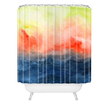Jacqueline Maldonado Brushfire Shower Curtain
