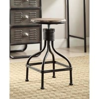 LOCKER COLLECTION Swivel Stool -4D Concepts