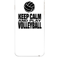 Keep Calm and Play Volleyball - iphone 6 Plus Case